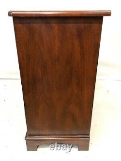 BRIGHTS OF NETTLEBED BURR WALNUT Bachelors Chest of Drawers Desk ANTIQUE STYLE
