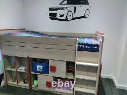 Bunk Bed, Wardrobe, Chest Of Drawers, Desk
