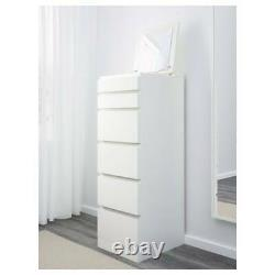 Chest Of 2 3 4 6 Drawers, Bed Side, Dressing Table, Desk, Home Drawer WHITE