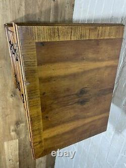 Georgian Style Mahogany Writing Desk Chest Of Drawers. Delivery Available