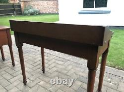 Laura Ashley Ludlow Console Side Table / Compact Desk With Drawer Cherry Wood