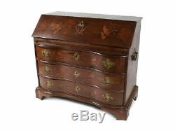 Magnificent 18th Century Northern Germany Desk Chest of Drawers Secretary oak