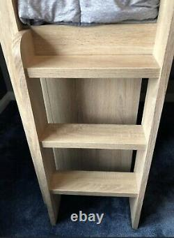 Next single bed & desk with matching chest of drawers in oak effect