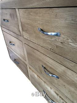 Oak Bedroom Single Bed Side Dressing Table Chair Chest of Drawers Mirror Suite