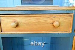 Pine Desk Chest of Drawers Sideboard Dressing Table Cabinet -Retro