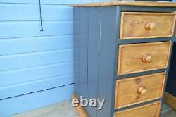 Pine Desk Chest of Drawers Sideboard Storage Cabinet Dressing Table