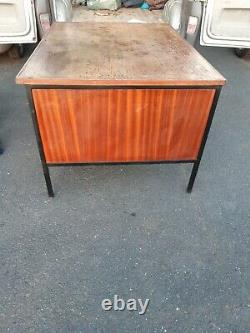 Plan Chest desk, industrial architect desk with drawers can deliver