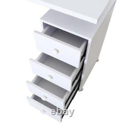 Pro Manicure Table Chest of Drawers Storage Desk Beauty Nails Care Work Station