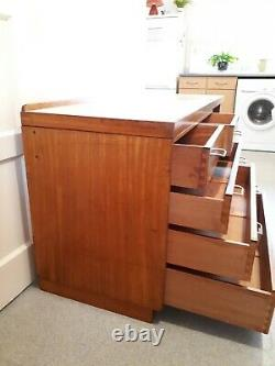 REMPLOY Military Desk/chest of Drawers 1972, Stamped With Military Arrow