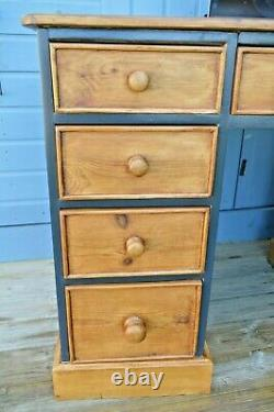 Rustic Chest of Drawers Pine Desk Sideboard Cabinet Dressing Table