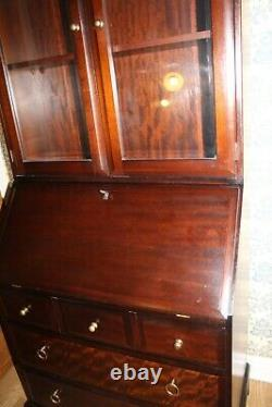 Stag Minstral Mahogany Solid Wood Traditional Bureau Bookcase DESK CHEST DRAWERS