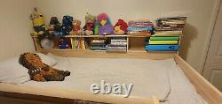 Stompa Mid Sleeper Bed with Desk, Chest of Drawer, Complete Kids Furniture Set