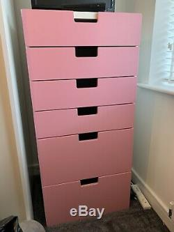 Stuva Ikea Highsleeper With Wardrobe, Desk And Bookcase & Large Chest Of Drawers
