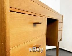 UK DELIVERY. MID-CENTURY TEAK DESK, danish Sideboard Chest Of Drawers Chair