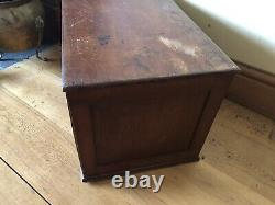 Vintage Specimen Chest Desk Chest With 3 Drawers Ideal for Crafting