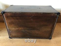 Vintage Specimen Chest Engineers Desk Chest With 7 Drawers Ideal Crafting