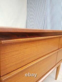 Vtg Mid Century Austinsuite Compact Sideboard Chest Of Drawers Retro #777