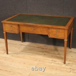 Writing desk in antique Style Napoleon III table furniture chest of drawers